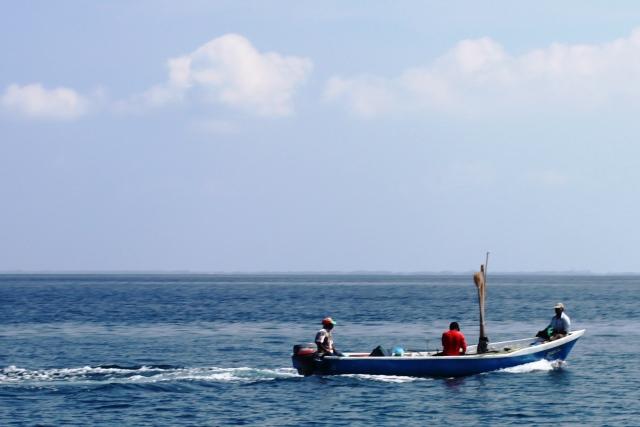 地元の漁師