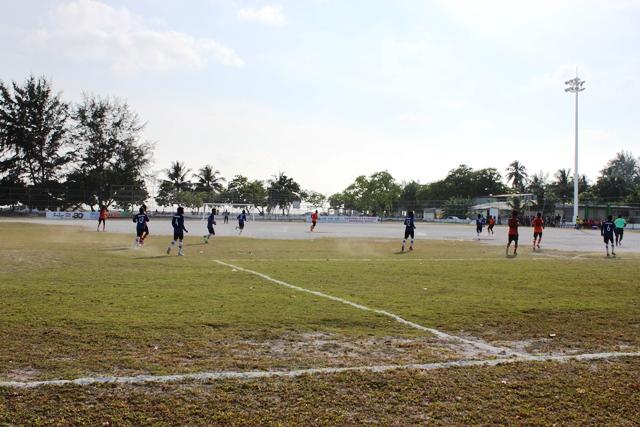 地元のサッカーチーム