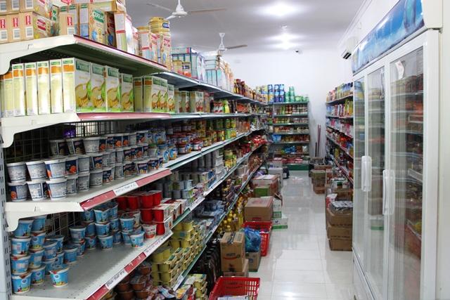スーパーの商品