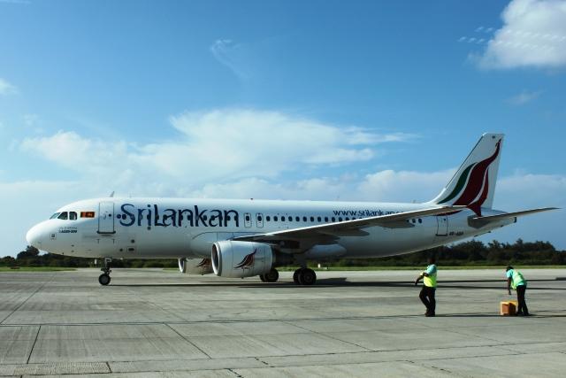 スリランカ航空A320機