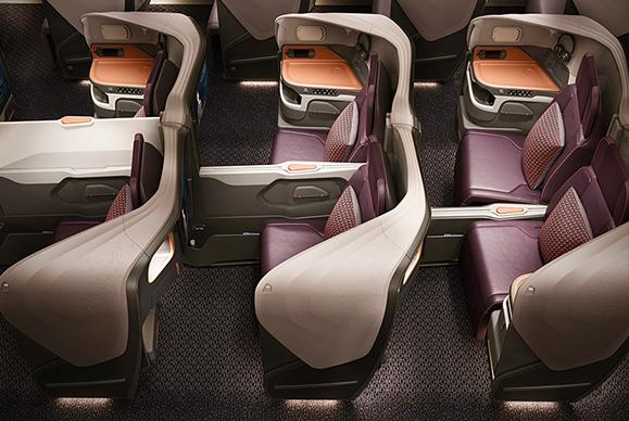 新型A380ビジネス座席※