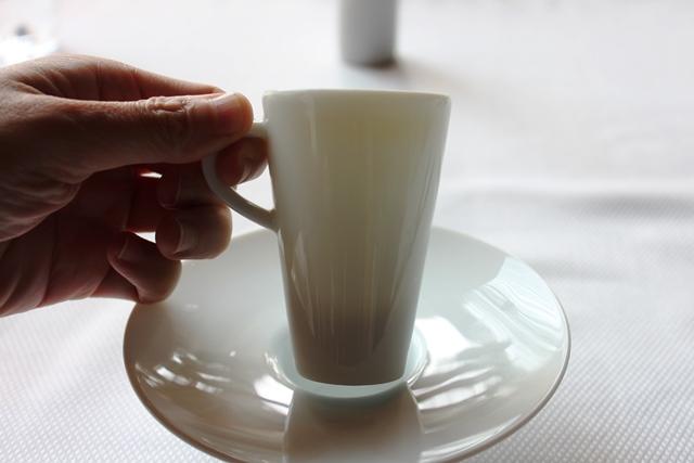 こんなに小さいカップに