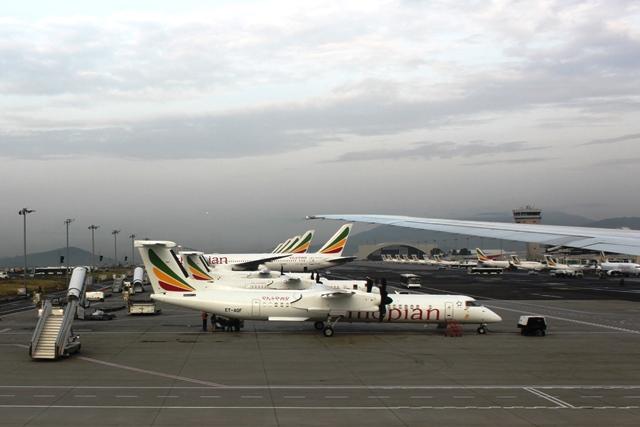 エチオピア航空のDH8機