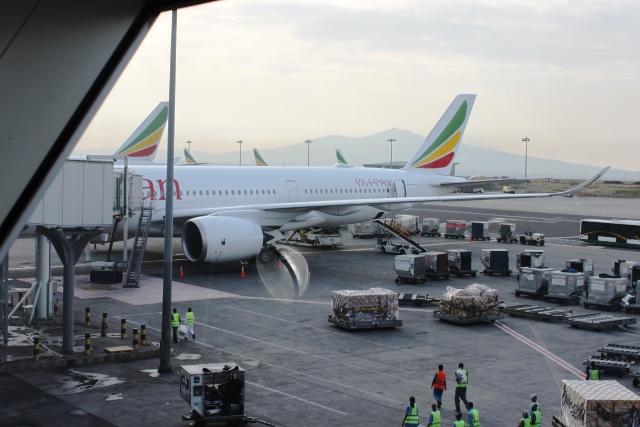 エチオピア航空A350-900機