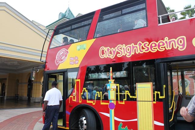 これがダウンタウン用のバス