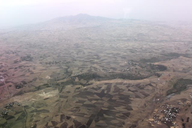 エチオピアの大地