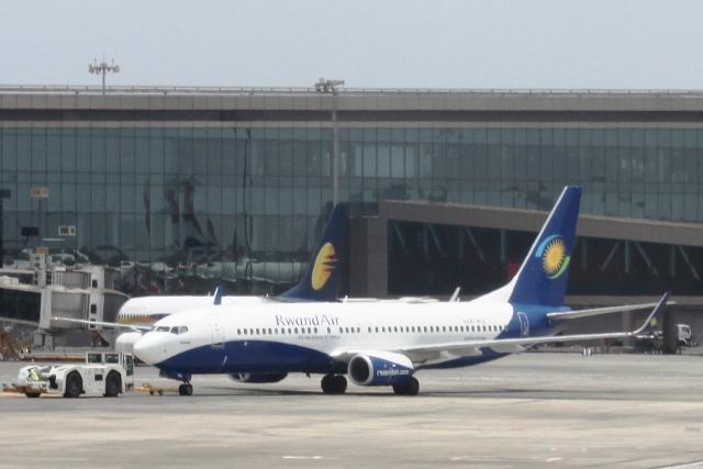 珍しいルワンダの航空会社