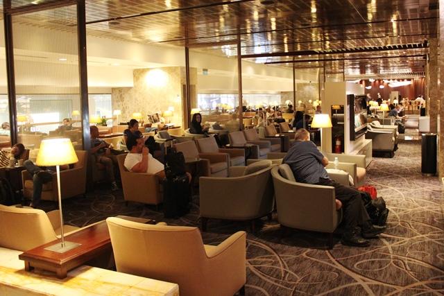 チャンギ空港第3ターミナルのシルバークリスラウンジ
