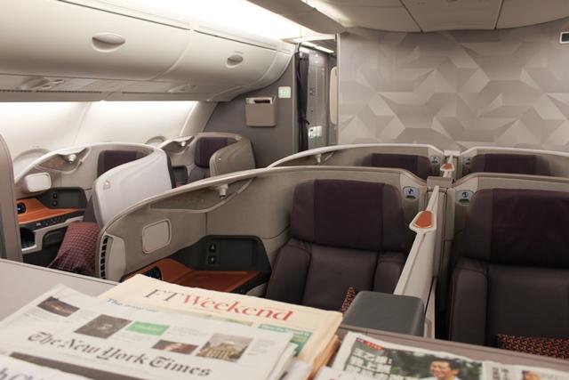新A380ビジネスクラス