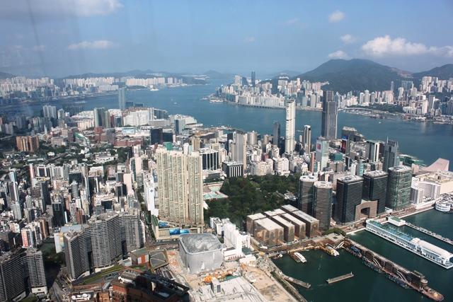 尖沙咀(Tsim Sha Tsui)の商業地帯