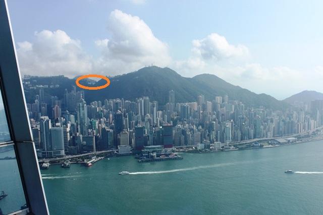 香港島とビクトリアピーク
