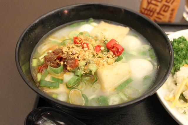 香港風スープ麺