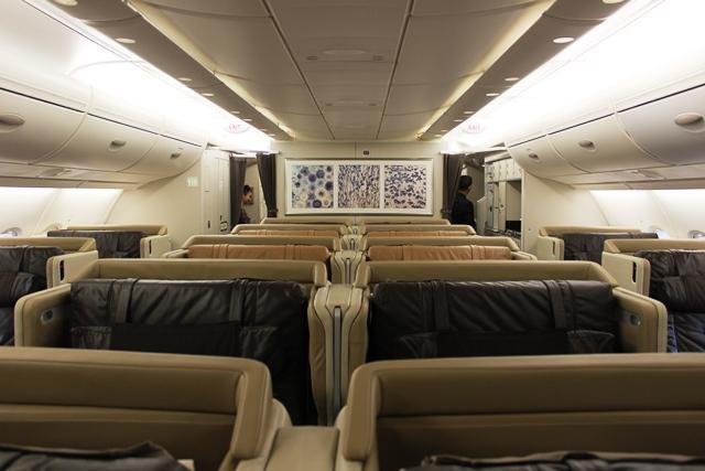 旧A380ビジネスクラス