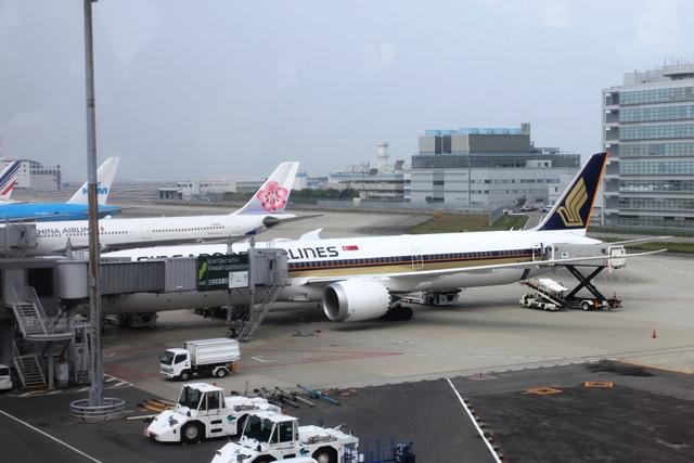 シンガポール航空787-10