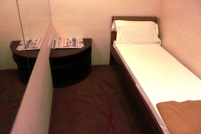 エアインディアラウンジの仮眠室