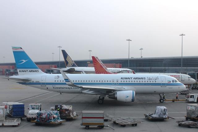 クウェート航空A320機