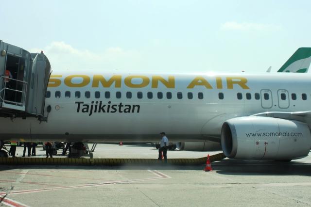 ソモン・エアのB737-900機