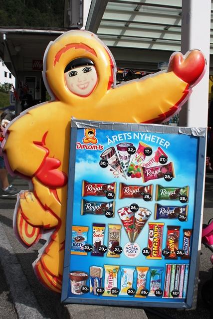 平均して400円のアイスクリーム