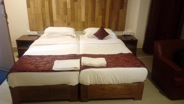 シャローム・ロッジのベッド