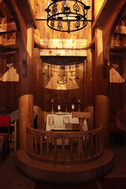 教会の内部