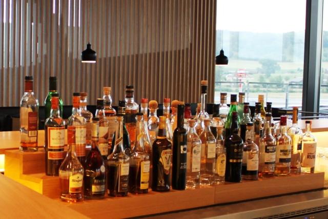アルコール類の並び