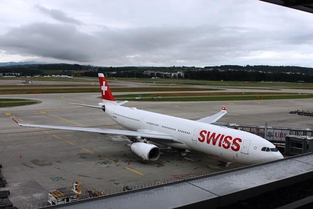 スイス国際航空A330-300機