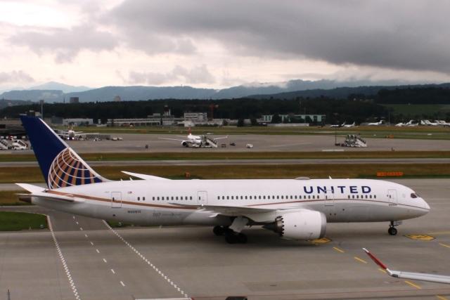 ユナイテッド航空787-8機