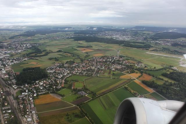 チューリッヒ郊外