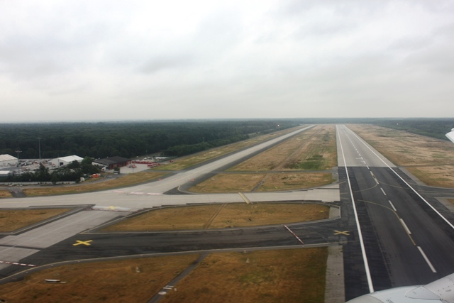 フランクフルト空港の滑走路