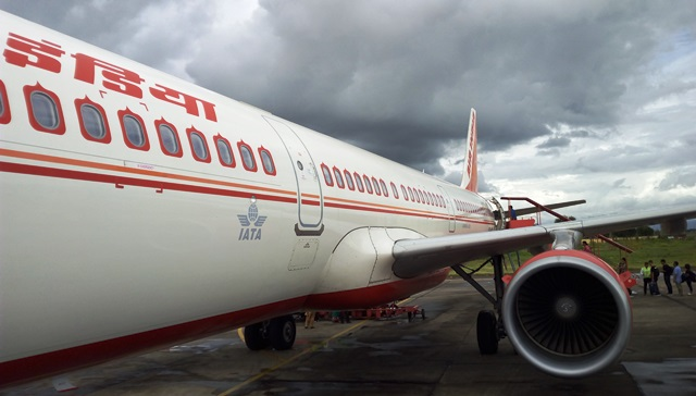 エアインディアA321機
