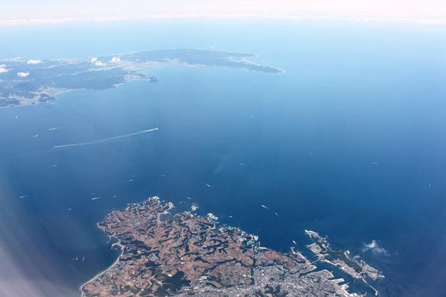 三浦半島と城ケ島
