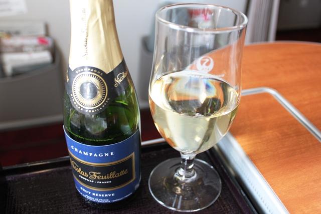 シャンパンのお替り