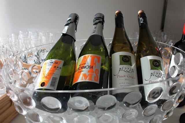そして白ワイン