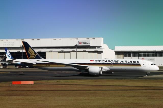 シンガポール航空787-10機