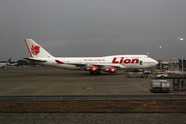 ライオンエアー747-400機