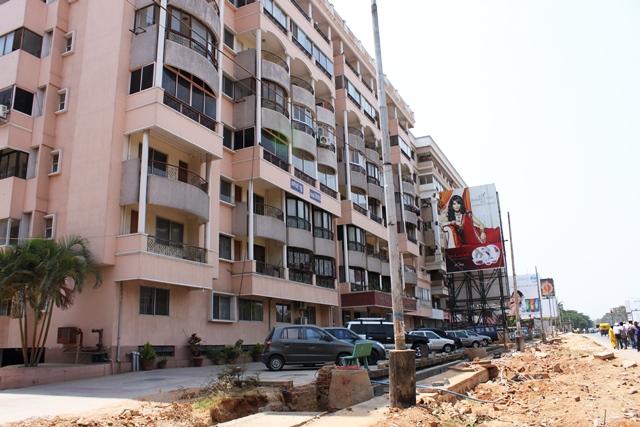 JAL バンガロール:僕が暮らしていたバンガロールのアパート(2010年)