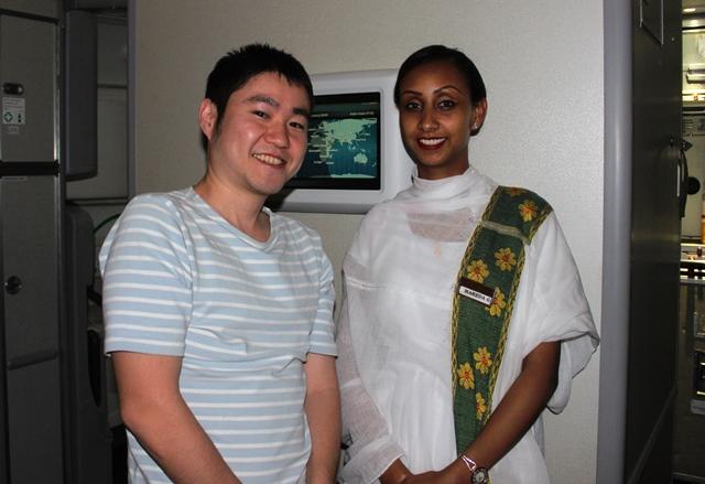 エチオピア航空クルー