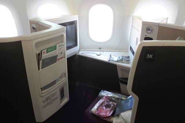JALの座席