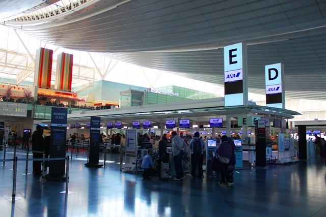 羽田空港国際ターミナルチェックインホール