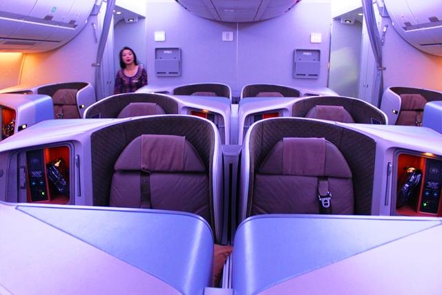 新A350ビジネスクラス