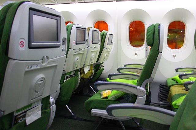 エチオピア航空 エコノミー:787エコノミー