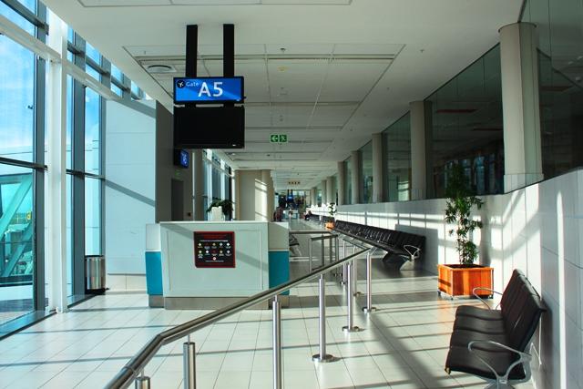ケープタウン国際空港出発エリア
