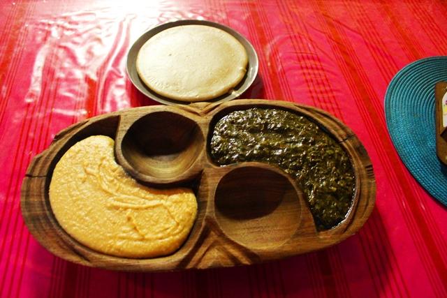 ナミビアの庶民料理