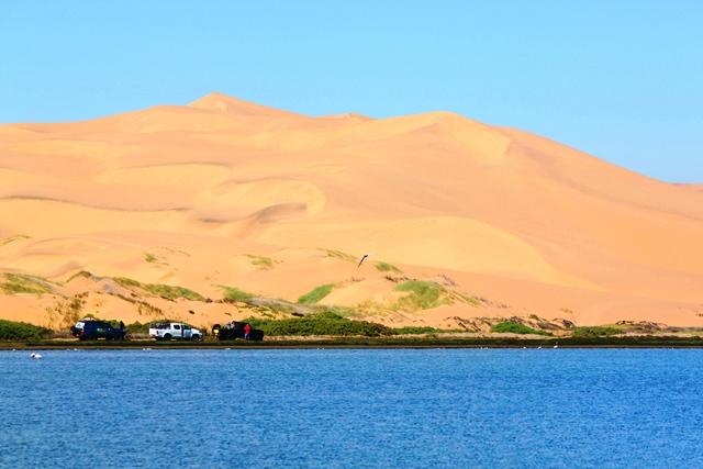 ラグーンと砂丘