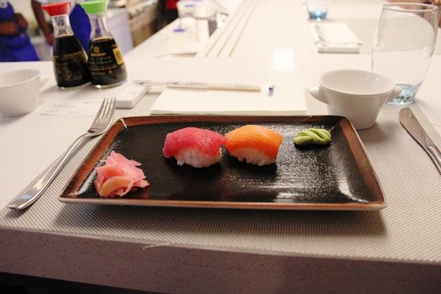 ナミビア 和食:寿司