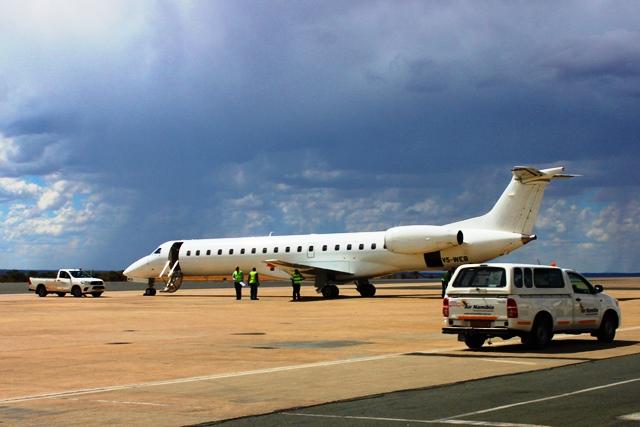 エアナミビア ERJ:今回乗る機材