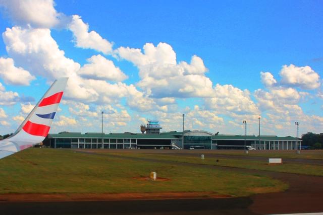 リビングストン空港
