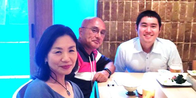 松栄寿司 恵比寿:Yさんご夫婦と一緒に