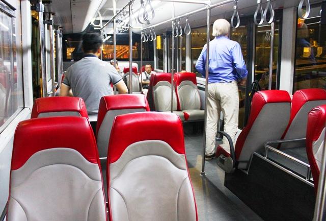 ビジネス&スタアラゴールド専用バス