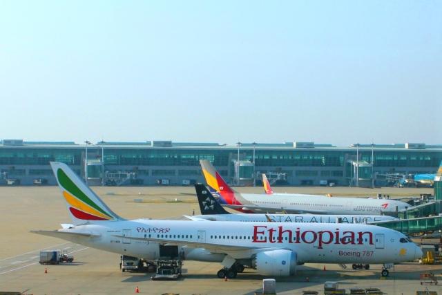 エチオピア航空787-8機